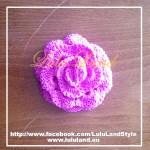 Brosa Trandafir Mare - roz