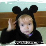 Hanorac crosetat Mickey Mouse / Minnie Mouse