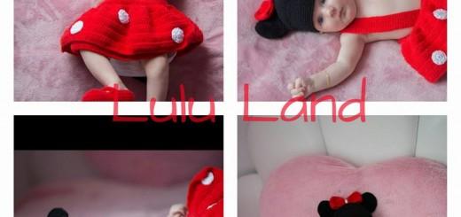 Set crosetat bebelusi Minnie Style