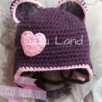 Caciulita crosetata All you need is... Bear Love :). - LL310
